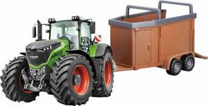 Fendt Tractor & Trailer Vario1050. Diecast Metal Bburago.1:50 Scale.Model Toy
