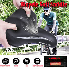 WIDE EXTRA COMFY BIKE BICYCLE GEL COMFORT SPORTY SOFT PAD SADDLE SEAT CRUISER
