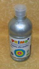 COLORE A TEMPERA PRIMO Alta Qualità 910 ARGENTO 500 ml cod.18482