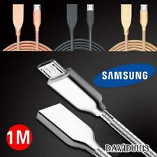 Metal Micro USB Data Sync Charging Charger Cable For Various Samsung Galaxy Phon
