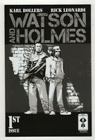 Watson & Holmes # 1 (Jul 2013, New Paradigm) Rick Leonardi B&W Variant ~ VF