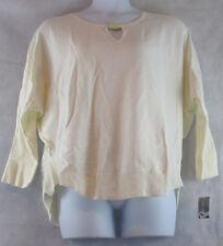 Inc International Concepts Plus Size Keyhole-Neck Sweater, Washed White, 2X