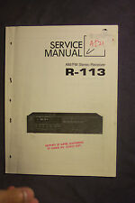 Luxman Stereo Receivers Service Manuals