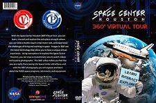 *NEW SEALED* Space Center Houston 360 degree Virtual Tour DVD Orangebird