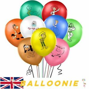"""9 X 12"""" TOY STORY Character Latex Balloons Party Decoration Buzz Birthday Party"""