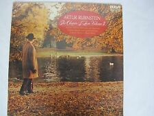 RARE SEALED 1959 Release The Chopin of Love Volume 3 Artur Rubinstein RCA 10""