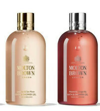 Molton Brown Jasmin & Sun Rose & Heavenly Gingerlily Bath & Shower Gel Set 300ml