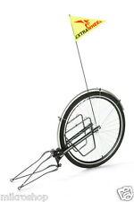Fahrradanhänger Lastenanhänger Einradanhänger mit 26 zoll Laufrad für Fahrrad.
