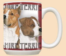 American Staffordshire Terrier Amstaff Dog Ceramic Coffee Mug Tea Cup 15 oz