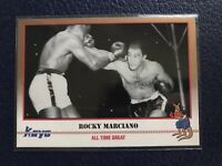ROCKY MARCIANO Brockton, MA  2001 KAYO Boxing #12  NM/MT+ w/Top Loader!