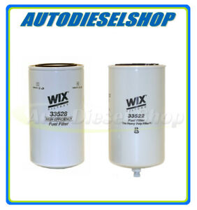 WIX SPIN FUEL FILTER & WATER SEPARATOR FOR FASS TITANIUM SERIES FUEL PUMPS