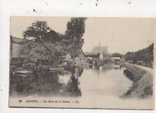 Amiens Les Rives De La Somme France [LL 33] Vintage Postcard 975a