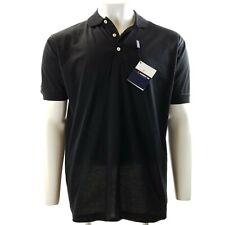 New COMO Sport Cobra Golf Polo Shirt M 100% Cotton Black Short Sleeve NWT