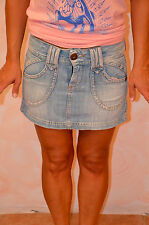 jolie jupe en jeans PEPE JEANS taille XS (36) ** TOUTE NEUVE ** VALEUR 119€