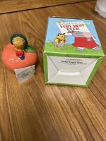 New Vintage Goebel Piggy Bank in Box! Lowly Worm - Richard Scarry Very Best Ever
