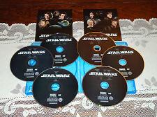 Star Wars Saga Complete 1 2 3 4 5 6 DVD Set Episodes I II III IV V VI (READ)