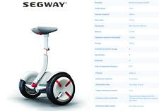 Segway miniPro white bianco Hoverboard 18 km/h 12,8kg elettrico resistenze acqua