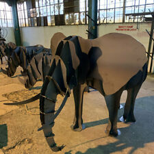 ELEPHANT BBQ, Flower Stand - DXF Files for CNC Laser or Plasma Cutter