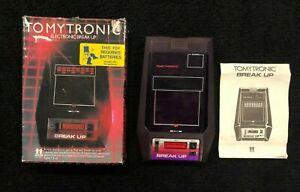 Tomy BREAK UP vintage electronic handheld game Tomytronic video game *Broke*