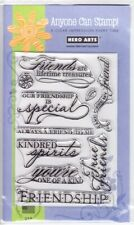 FANCY FRIENDS - Hero Arts Poly Clear Stamp Set
