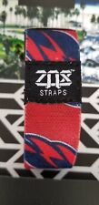 Zox Strap CAPITALS HOCKEY! White! Not made with a card!