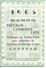 1965 Vietnam, Cambodia, Laos Stamp Catalog - Used - 33 Pages*