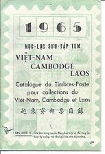 1965 Vietnam, Cambodia, Laos Stamp Catalog - Used - 33 Pages*