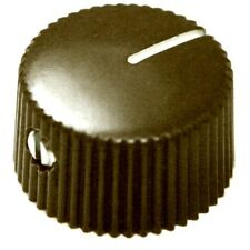 Genuine Fender Pure Vintage Dark Brown Amplifier Knobs, Pkg. of six