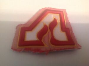 LOT OF 1-VINTAGE  DEFUNCT SMALL ATLANTA FLAMES PATCH-NHL