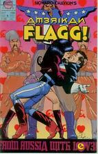Howard Chaykin 's American Flagg! # 6 (Mike vosburg) (états-unis, 1988)