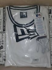 New York Yankees Tee - Tipping Detail In White T Shirt Size 2XL