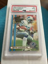 1990 Action Packed All - Madden #47 - BARRY SANDERS - PSA 9 Mint