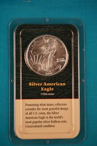 1986 SILVER AMERICAN EAGLE SEALED IN PACKAGE