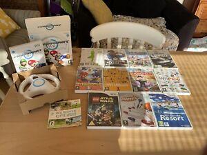 Nintendo Wii Games Bundle Mario Kart Etc. 13 Games