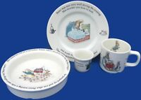 Wedgwood Peter Rabbit 4 Piece Set - Cup, Plate, Bowl & Egg Cup