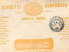 BA77 1898 GB PUBBLICITARIO * Schultze polvere da sparo * copertura SHOTGUN CARTUCCIA TIRO
