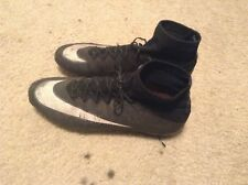 Nike mecurial CR7 Soccer Cleats Black Size 10