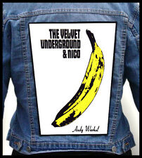 THE VELVET UNDERGROUND & NICO --- Giant Backpatch Back Patch