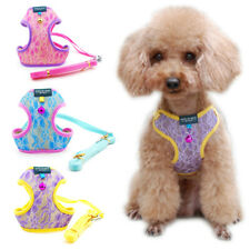 Kitten Cat Walking Harness Lead Leash Collar Adjustable Small Dog Vest for Pets