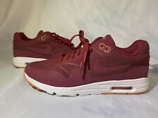 Nike Air Max 1 Burgundy Reflective 3M Size 9