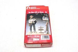 Andrea Miniatures Man No With Name Cowboy Gunfighter 54mm Figurine Kit Tin Metal