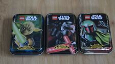 Lego Star Wars™ Series 1 Trading Card Game all 3 Mini Tin Boxing Can Empty