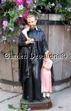 """16"""" ST VINCENT DE PAUL HOLDING CHILD STATUE Plaster / Chalkware"""