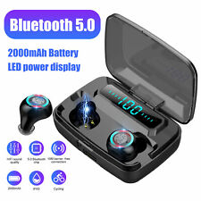 New listing Bluetooth 5.0 Headset Tws Wireless Earphones Mini Earbuds Stereo Headphones Us