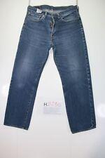 Levis 751 Indigo (Cod. H2235)Tg48 W34 L30 jeans usato Vita Alta Vintage Original