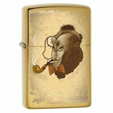 Camel Smoking a Pipe Zippo Lighter 78546