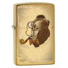 Camel Smoking a Pipe Zippo Lighter 78546