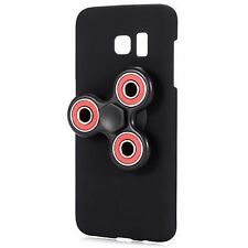 Black Ultra-Thin Samsung S7  Case Cover & Hand Spinner Toy