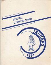 Yearbook Viers Mill Elementary School Silver Spring Maryland Jaguars 1991