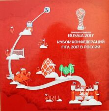 RUSSIA RUSSLAND 2017 SP 2419 FIFA Confederations Cup Soccer Fußball Pokal MNH